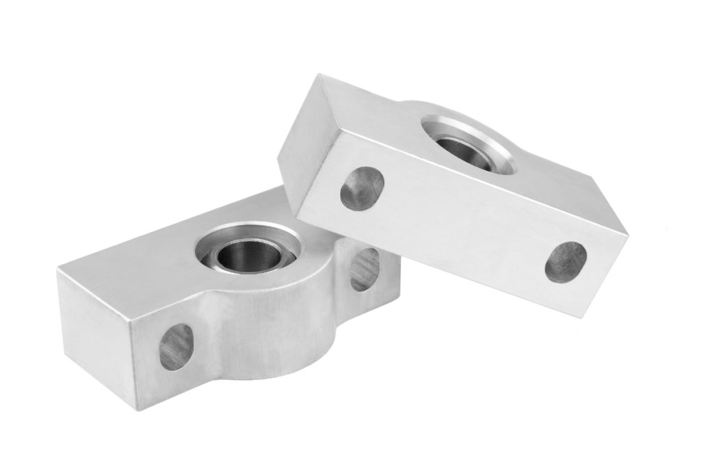 Aluminum milled parts